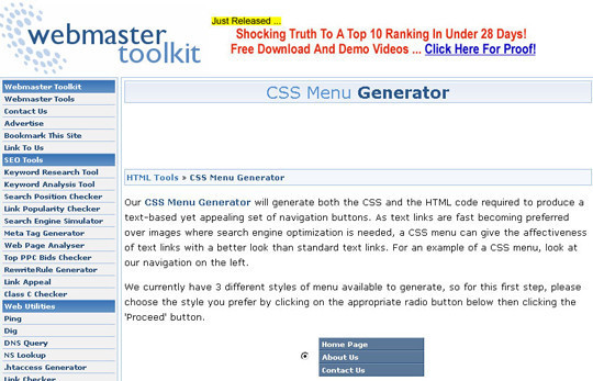 40 Excellent (Yet Free) CSS Tools And Generators For Developers 31