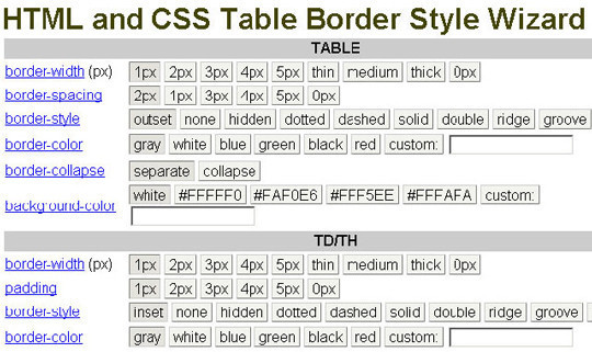 40 Excellent (Yet Free) CSS Tools And Generators For Developers 32