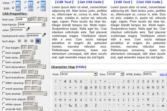 40 Excellent (Yet Free) CSS Tools And Generators For Developers 34