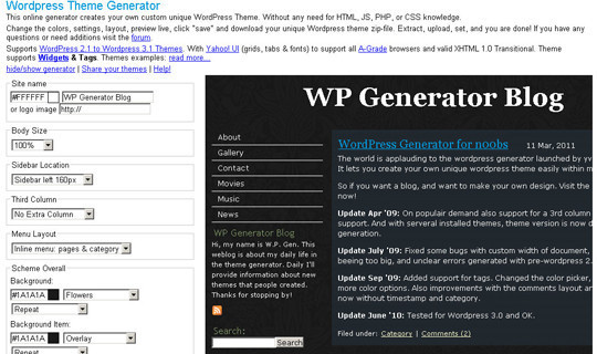 40 Excellent (Yet Free) CSS Tools And Generators For Developers 38