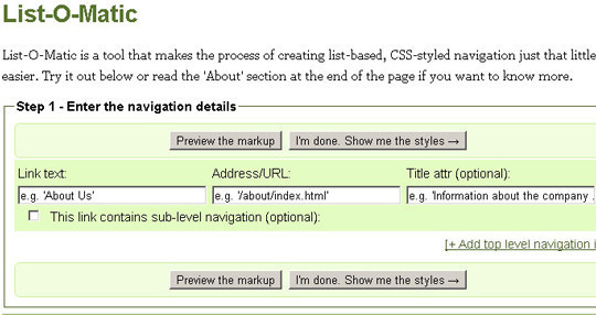 40 Excellent (Yet Free) CSS Tools And Generators For Developers 39