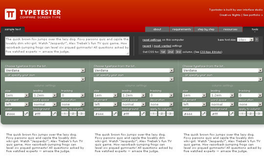 40 Excellent (Yet Free) CSS Tools And Generators For Developers 40