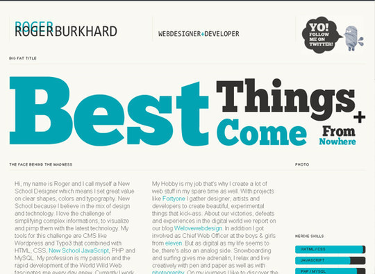 Showcase Of Creative Typography In Modern Web Design 19