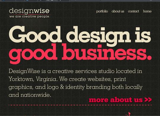 Showcase Of Creative Typography In Modern Web Design 11