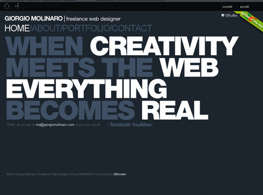 Showcase Of Creative Typography In Modern Web Design 26