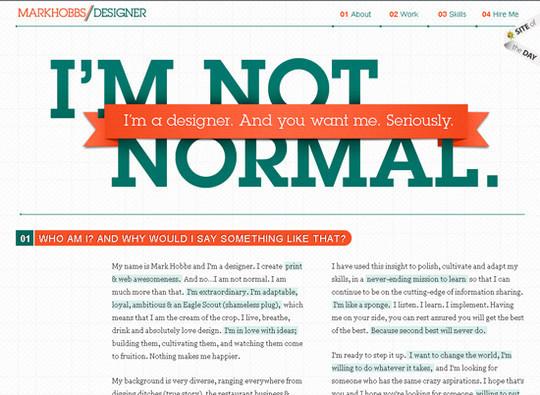 Showcase Of Creative Typography In Modern Web Design 27