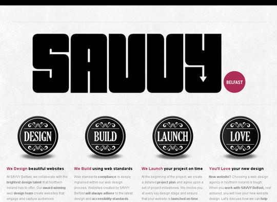 Showcase Of Creative Typography In Modern Web Design 28
