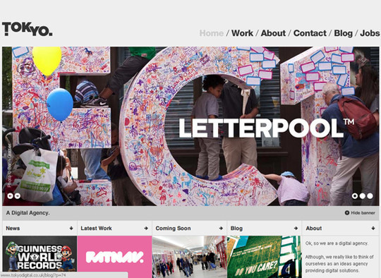 Showcase Of Creative Typography In Modern Web Design 33