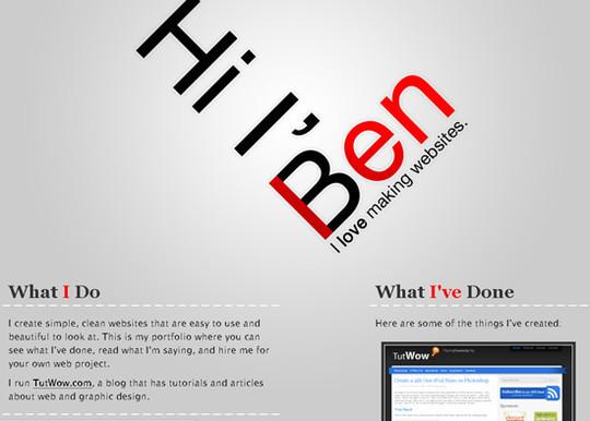 Showcase Of Creative Typography In Modern Web Design 35