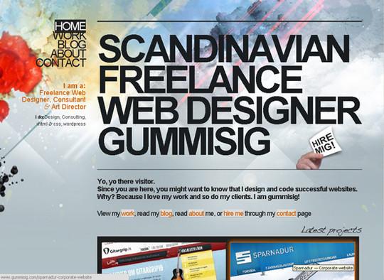 Showcase Of Creative Typography In Modern Web Design 4