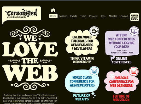 Showcase Of Creative Typography In Modern Web Design 36