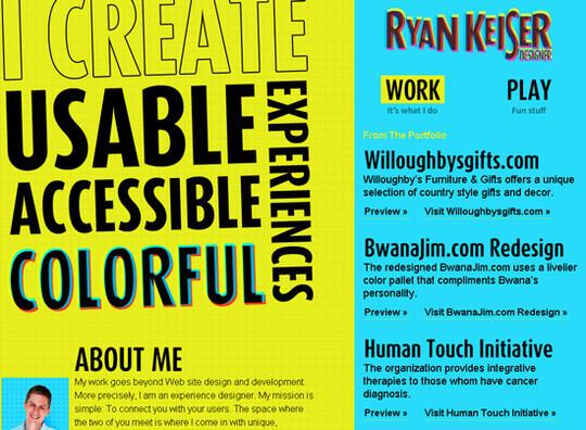 Showcase Of Creative Typography In Modern Web Design 37