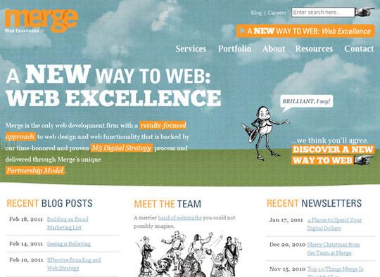 Showcase Of Creative Typography In Modern Web Design 39