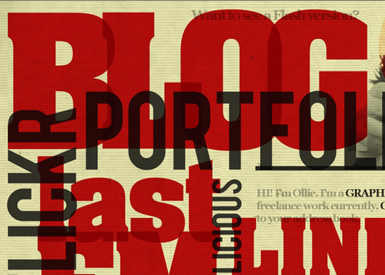 Showcase Of Creative Typography In Modern Web Design 42