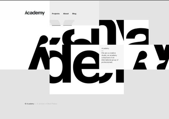 Showcase Of Creative Typography In Modern Web Design 43