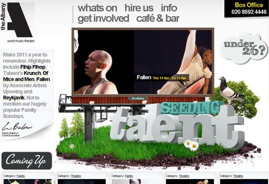 Showcase Of Creative Typography In Modern Web Design 10