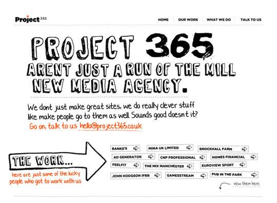 Showcase Of Creative Typography In Modern Web Design 13