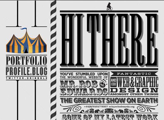 Showcase Of Creative Typography In Modern Web Design 47