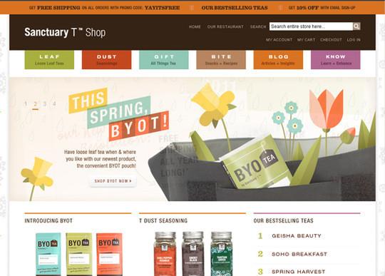Showcase Of Creative Typography In Modern Web Design 48