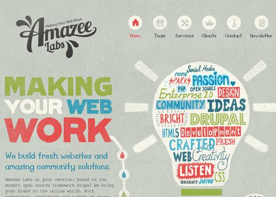 Showcase Of Creative Typography In Modern Web Design 1