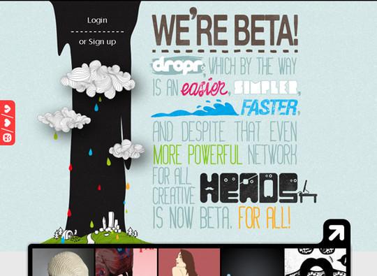 Showcase Of Creative Typography In Modern Web Design 8