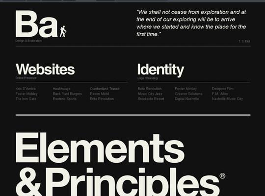 Showcase Of Creative Typography In Modern Web Design 17