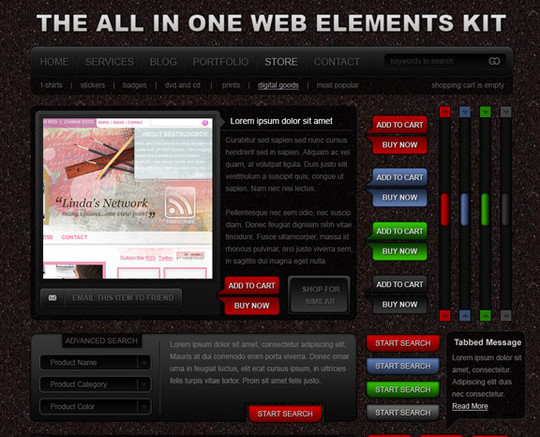 21 Free UI Design Tools, Toolkits and Resources (Part 1) 20