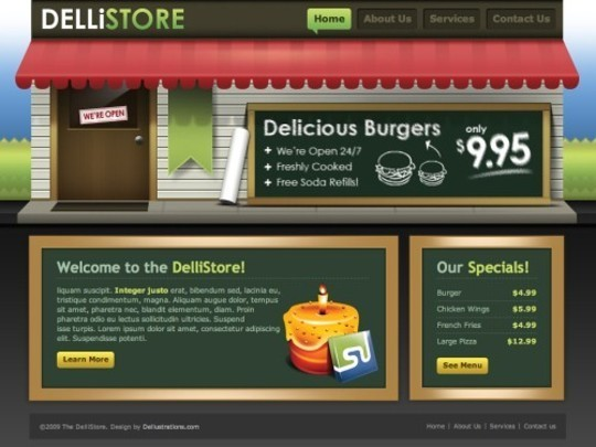 50 High Quality Web Layout PSD Templates Available For Free 5