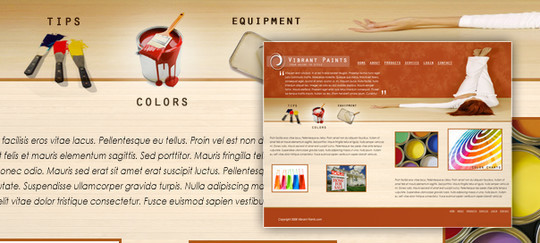 50 High Quality Web Layout PSD Templates Available For Free 25