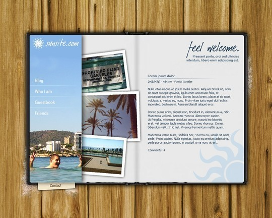 50 High Quality Web Layout PSD Templates Available For Free 9