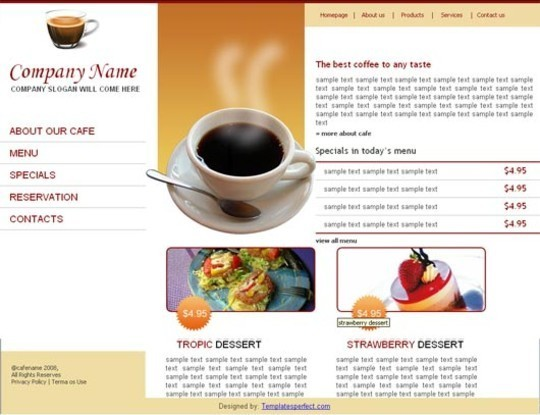 50 High Quality Web Layout PSD Templates Available For Free 45