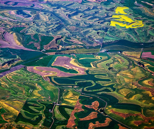 45 Stunning Examples Of Bird's Eye View Photography That Captured The Beauty Of Earth 11