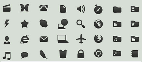 50 High Quality And Free To Use Minimalist Icon Sets 22