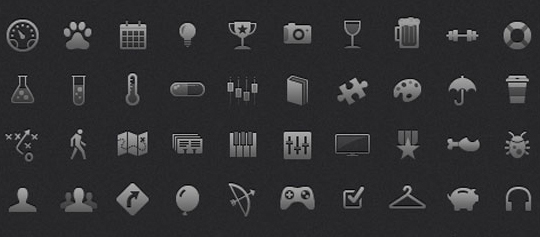50 High Quality And Free To Use Minimalist Icon Sets 23