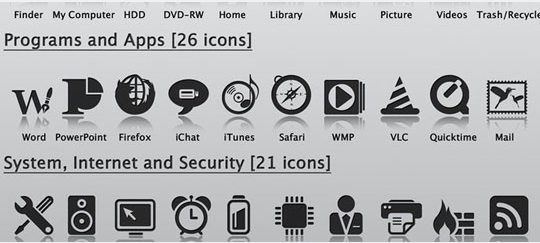 50 High Quality And Free To Use Minimalist Icon Sets 25