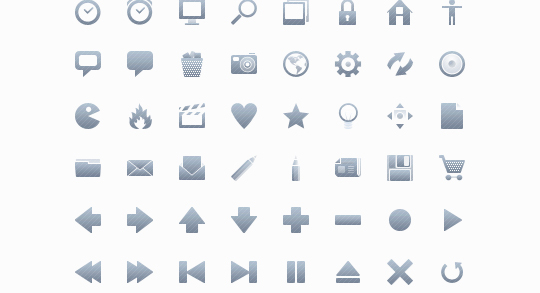 50 High Quality And Free To Use Minimalist Icon Sets 19