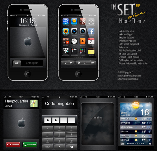 60 Extremely Beautiful Mobile Phones GUI PSD Packs 1
