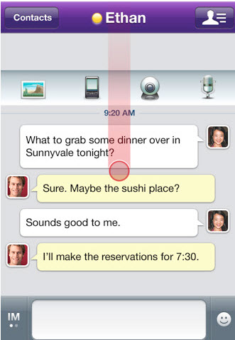 Five Free iPhone Apps For Instant And Text Messaging 4