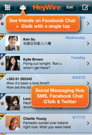 Five Free iPhone Apps For Instant And Text Messaging 3