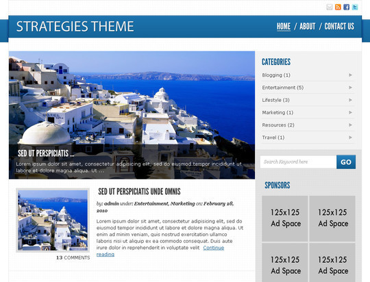 50 Fresh and Free WordPress 3 Series Compatible Themes 23