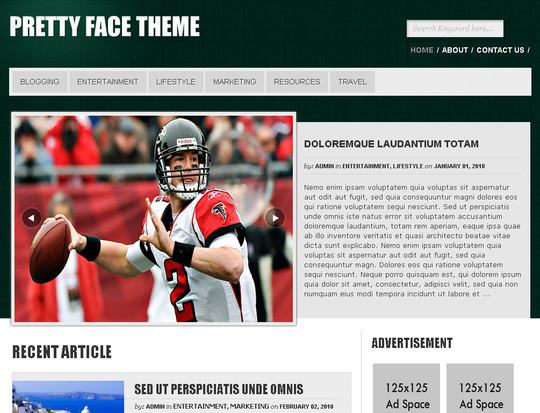 50 Fresh and Free WordPress 3 Series Compatible Themes 26