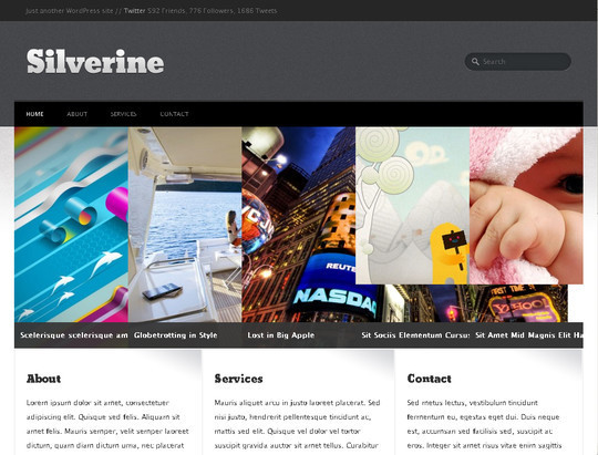 50 Fresh and Free WordPress 3 Series Compatible Themes 30