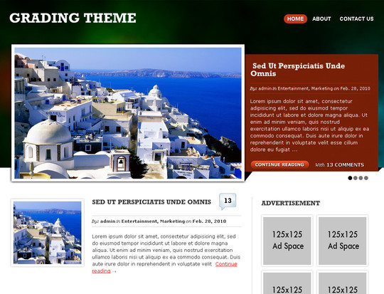 50 Fresh and Free WordPress 3 Series Compatible Themes 9