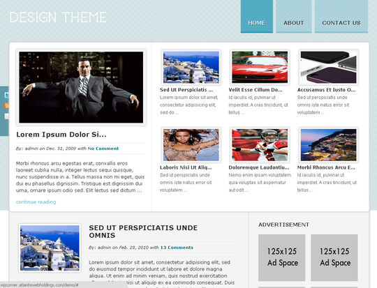 50 Fresh and Free WordPress 3 Series Compatible Themes 38