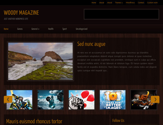 50 Fresh and Free WordPress 3 Series Compatible Themes 1