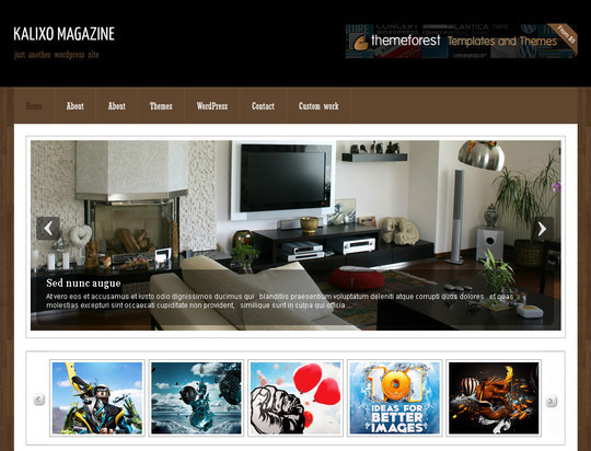 50 Fresh and Free WordPress 3 Series Compatible Themes 8