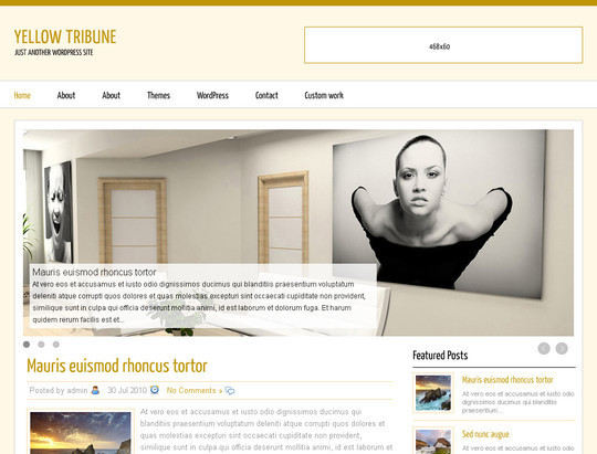 50 Fresh and Free WordPress 3 Series Compatible Themes 5