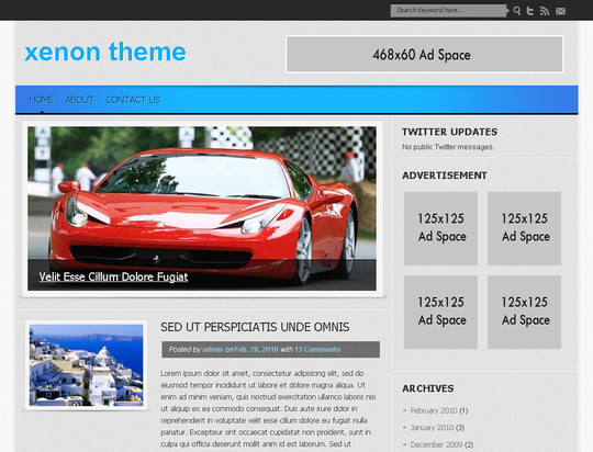 50 Fresh and Free WordPress 3 Series Compatible Themes 18