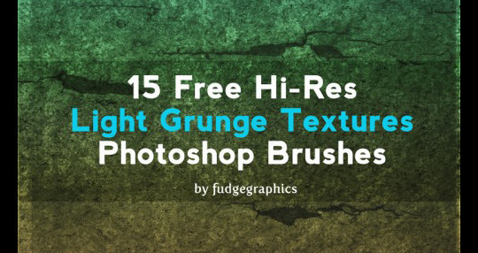 60+ Must-Have Photoshop Brush Sets For Excellent Grunge Effects 21