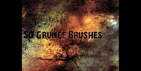 60+ Must-Have Photoshop Brush Sets For Excellent Grunge Effects 25
